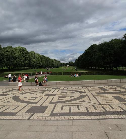 新青年读老经典之维格兰雕塑公园_风景园林新青年