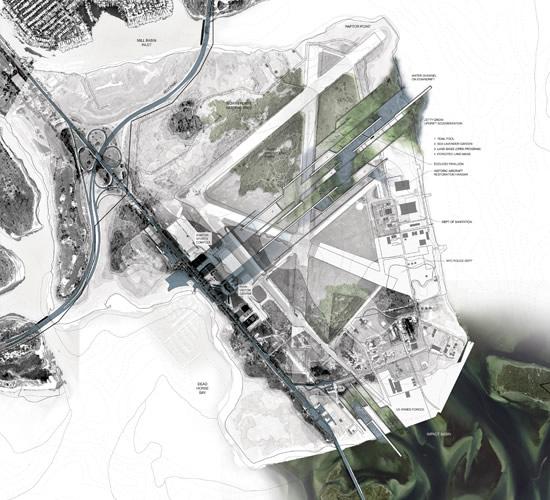 勾勒变化的海岸 应对海平面上升的风景园林设计