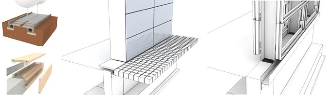 CAD与3D建模的穿插进行细部推敲
