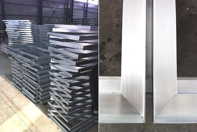 镜面墙各个组件在工厂预制,获得工业级质量