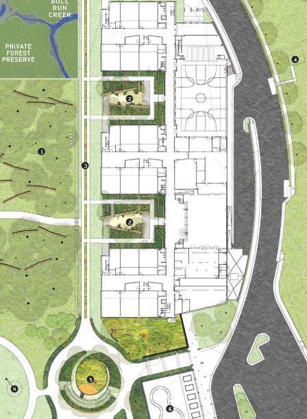 道路铺装景观规划设计方案,包括平面图、人行道平面   道路铺