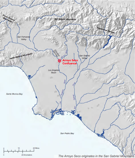 Figure 1-1 Los Angeles River Watershed | 洛杉矶河流域