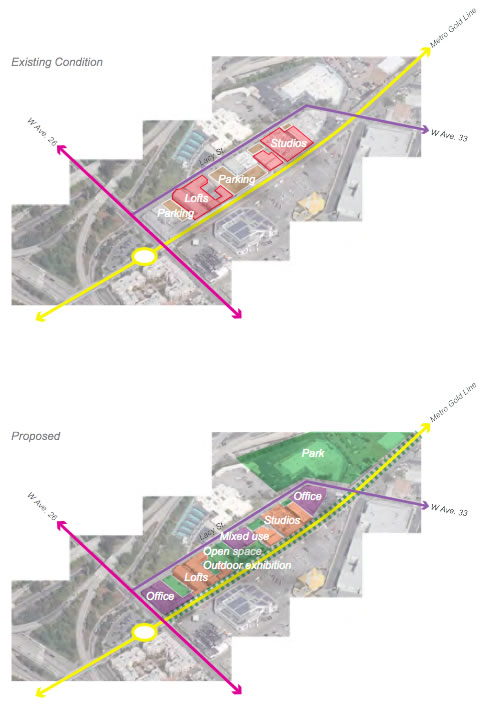 Figure 3-3-2 Lacy Street Reuse and Development | Lacy街的再利用与发展