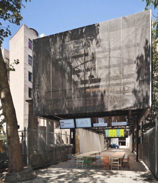 图3 宝马古根海姆实验室纽约站建成实景