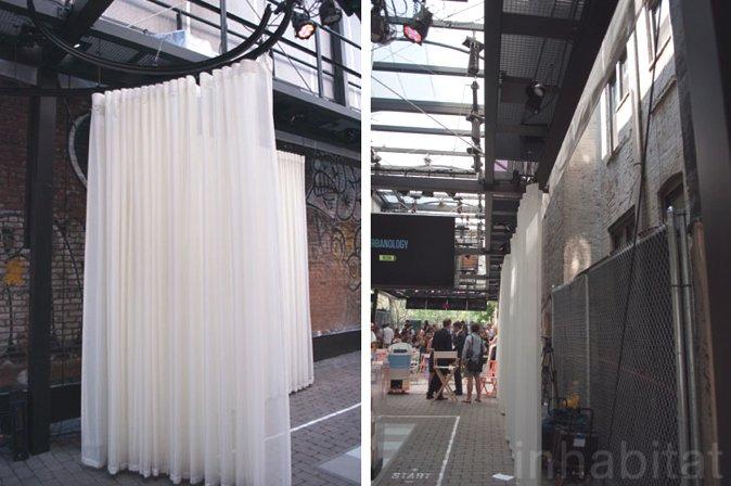 图4 宝马古根海姆实验室窗帘等内景