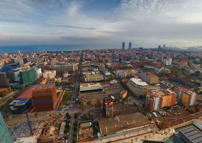 图8:22@区鸟瞰照片3。Photo Credit: 360°Aerial Panorama。