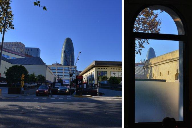 图9:几乎从该区的任何角度都可以看见Alba Tower, 其也成为了22@的地标建筑。