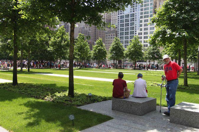 图12,花园中的开敞绿地,用以举办各种仪式和活动。(Photocredit:周啸)