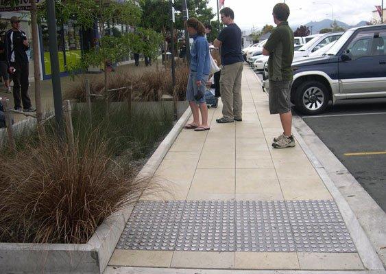 图9. 停车场绿化带