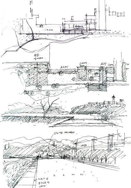 图2,初期概念,钢笔,2009年