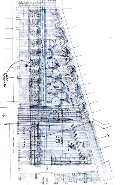 图4,平面研究,钢笔,2010年