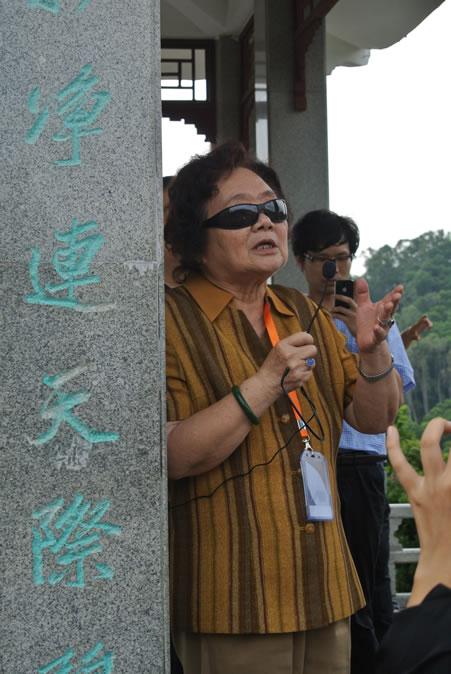 (图8)杨赉丽先生回忆设计故事
