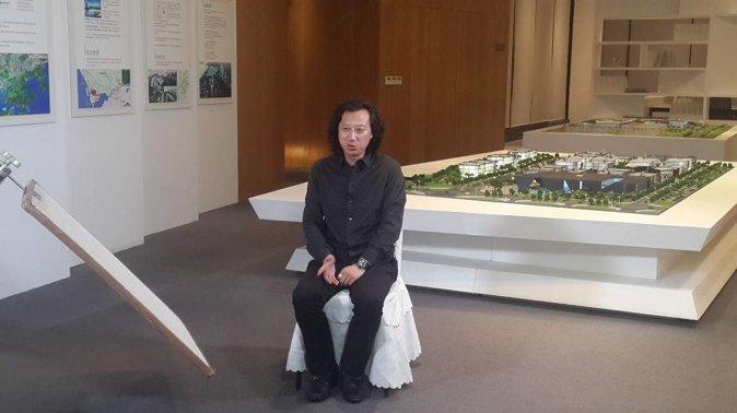 图7:建筑设计主创张雷副院长 (摄影:范烨)