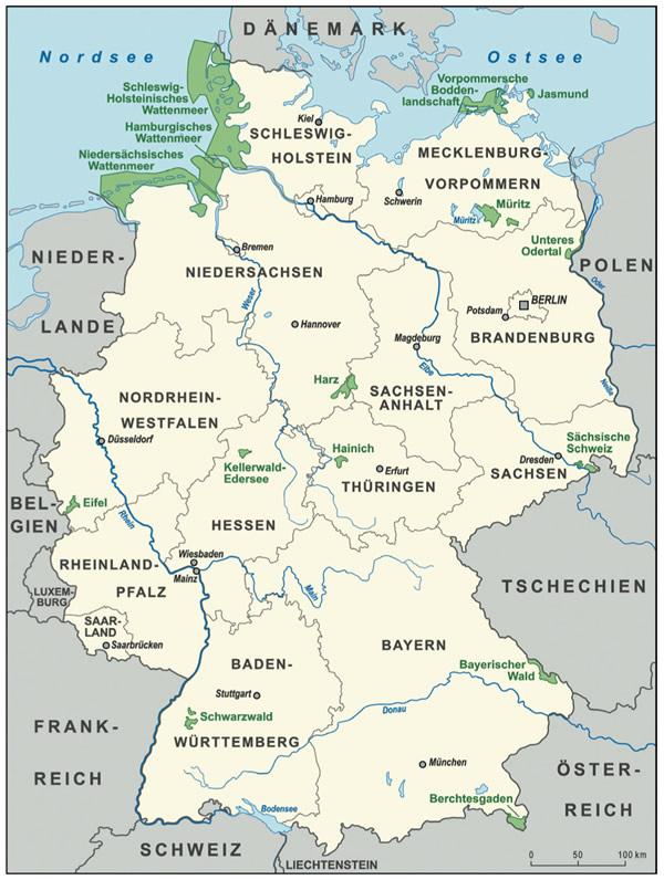 德国国家公园体制若干特点研究