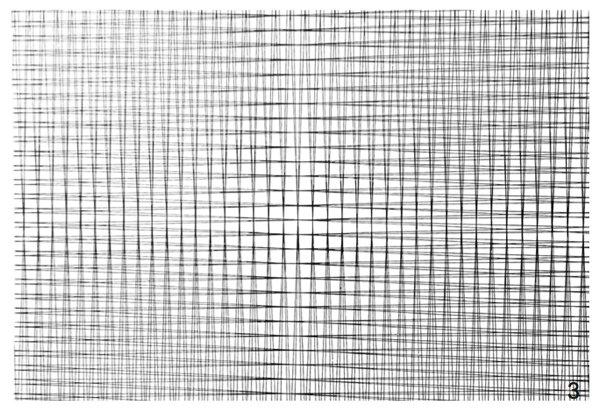 (Francois Morellet) 4 DOUBLES GRIDS -1° +1°, -2° +2° (1961) - KAT. 34