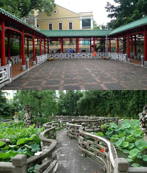澳门卢廉若公园:岭南文化在现代的一种延续与融合,用中式的审美诠释西方形式。