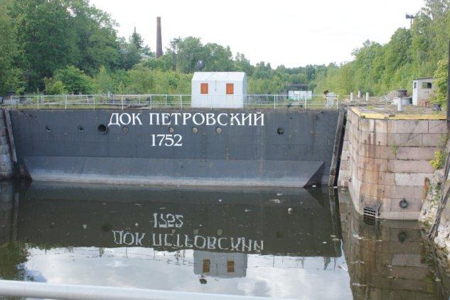 芬兰湾大坝船只蓄水调节池