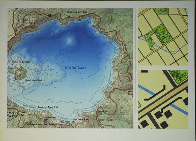 GIS平台更新后绘制的精美地图