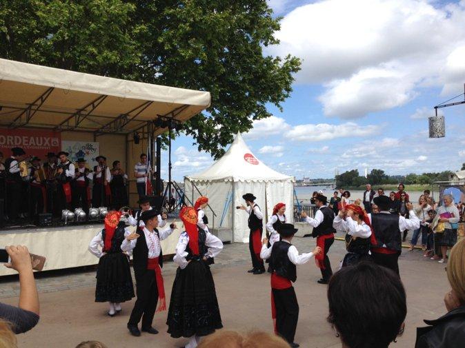 欧盟节的葡萄牙表演