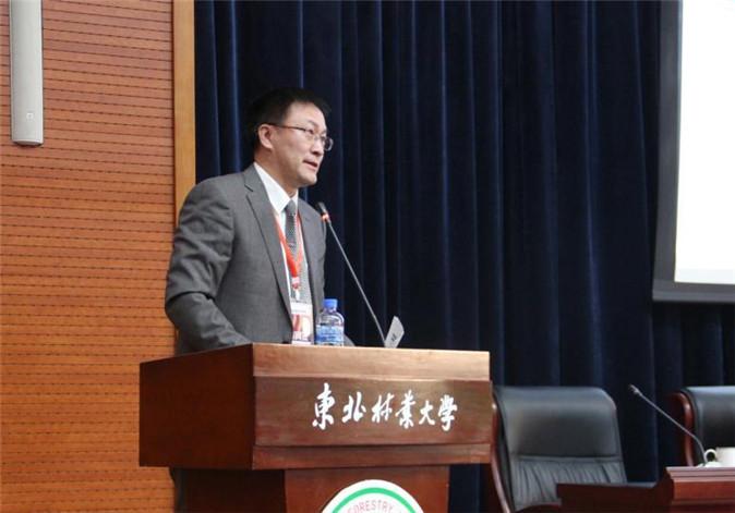东北林业大学园林学院院长许大为主持开幕式-2016年中国风景园林教