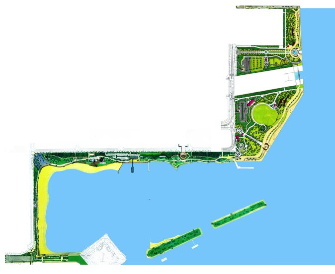 台场海滨公园设计图