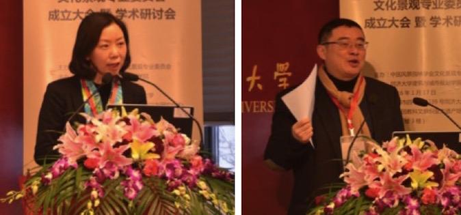 左:邵甬教授,右:李振宇院长